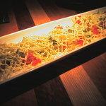沖縄居酒屋 ちゅらり - 沖縄鮮魚(琉球スギ)のカルパッチョ