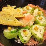 海の花 - 三段目(花ちらし寿司)