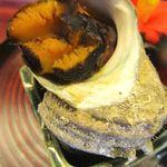 海の花 - サザエの壺焼き