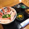 おけしょう鮮魚の海中苑 - 料理写真:カニ・エビ丼