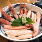 おけしょう鮮魚の海中苑 - 甘エビ、甘い!