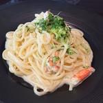 116001794 - ずわい蟹とブロッコリーの蟹味噌クリーム リングイネ
