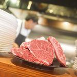 裏参道牛肉店 - 今日のニク