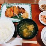 京粕漬 魚久  - やまと豚酒粕赤味噌漬け定食