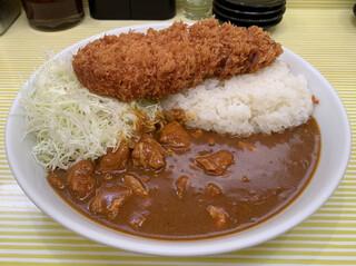 とんかつ檍のカレー屋いっぺこっぺ - ロースカツカレー (1,000円 税込)