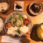 116011919 - 唐揚げらっきょタルタル定食 850円