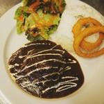MKYアメリカンレストラン - 『コーラポーク ライスプレート』