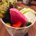 串揚げと和食 もりもと  - こだわりぬいた厳選の野菜が最高。