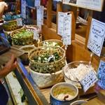 都野菜 賀茂 - バイキングカウンター