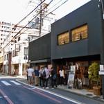 都野菜 賀茂 - 開店直後にすでに行列が