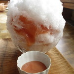 116017615 - かき氷 白桃&グァバ