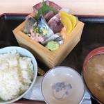 魚と肴 とおるの台所 - 刺身定食
