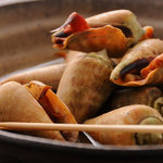 かとう - チャンバラ貝磯煮(土佐の珍味)