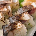 かとう - 焼さば棒寿司(入荷時のみ)
