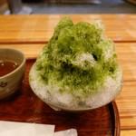 赤福茶屋 - 赤福氷