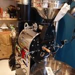 黒柴コーヒー - カッコいい焙煎機