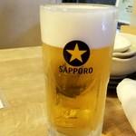 えびず - 生ビール:499円税別