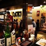 天ぷら酒場 NAKASHO - カウンター席から