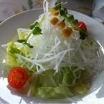 カレーハウスジブ - サラダ