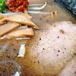 麺家 はなまる - 辛子味噌ラーメン「あっぷ図」