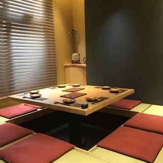 VIPルームが完全リニューアル!!清々しい琉球畳の掘りごたつ席に!