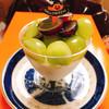 サフラン - 料理写真:シャインマスカットと長野パープルのパンナコッタ