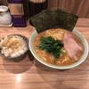 清水家 - 料理写真:ラーメン中 ライス  800円+120円