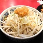 116036667 - バカ馬つけ麺 煮卵付き850円(魚介醤油)
