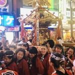 鉄板焼き ステーキ 湛山 - 熊野神社の御神輿
