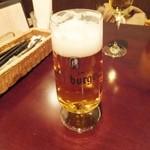 ビストロ シュパーゲル - ドイツビール bitt burger生