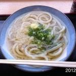うどん村 - 2012.2.13(月) 14時訪問  かけ小260円d(^_^o)