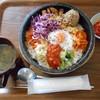 コッテジ - 料理写真:石焼CSB ランチセット(ご飯大盛り)