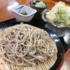 水芭蕉 - 料理写真:天ざるそば