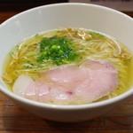 町田汁場 しおらーめん進化 - 料理写真:塩らーめん