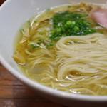 町田汁場 しおらーめん進化 - 麺