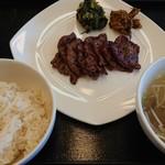 伊達の牛たん本舗 - 牛タン定食 味噌