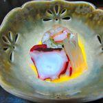 山喜旅館 - 夕食・酢の物