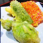 山喜旅館 - 夕食・揚げ物