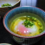 山喜旅館 - 朝食・温泉卵