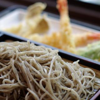 石心 - 料理写真:天ぷらもりそば