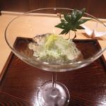 Takasegawamaki - 枝豆豆腐ジュレ掛け