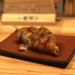 串焼き・野菜巻き工房 ひょーげもん - レタス巻き(餡かけ)