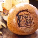 ホームメイド - メキシカンバーガー(¥800)
