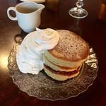 カフェ 坂の下 - パンケーキ プレーン
