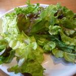 ピッツァ サルヴァトーレ クオモ - ランチのサラダ
