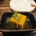 116060630 - お通し②カボチャ豆腐