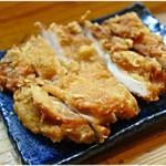 116061294 - 別皿で提供される鶏天。すげぇ硬いの。