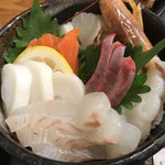 しまづ者 - 見事な海鮮は鮮やか