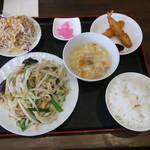 116064676 - 日替わりランチ野菜炒め