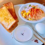ル・モンド - 料理写真:スタンダードモーニング518円